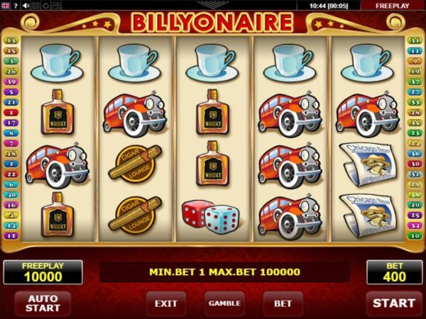 Uniknya Game Slot Billinaire
